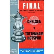 20/05/1967 Chelsea v Tottenham Hotspur FA Cup Final