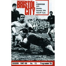 30/12/1967  Bristol City v Birmingham City