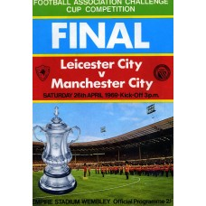26/04/1969  Leicester City v Manchester City  FA Cup Final