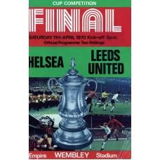 11/04/1970 Chelsea v Leeds United FA Cup Final