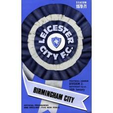 16/01/1971  Leicester City v Birmingham City