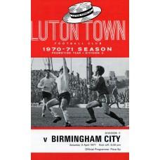 03/04/1971  Luton Town v Birmingham City