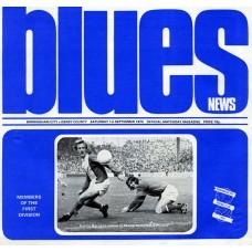 01/09/1973 Birmingham City  v Derby County