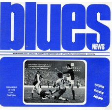 11/09/1973 Birmingham City v Chelsea