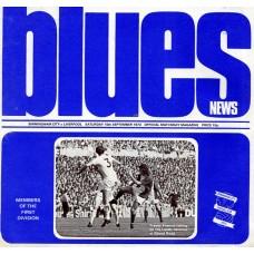 15/09/1973 Birmingham City v Liverpool
