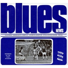 05/01/1974 Birmingham City v Cardiff City FA Cup Round 3