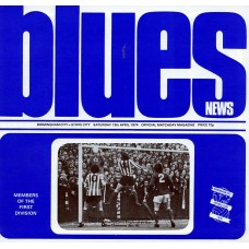 13/04/1974 Birmingham City v Stoke City