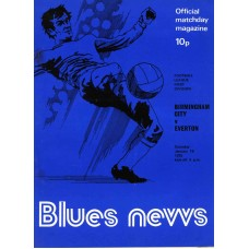 18/01/1975  Birmingham City v Everton