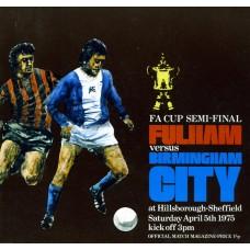 05/04/1975  Fulham v Birmingham City  FA Cup Semi-Final