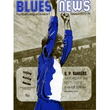 06/09/1975  Birmingham City v Queens Park Rangers
