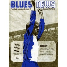 20/09/1975 Birmingham City v Burnley