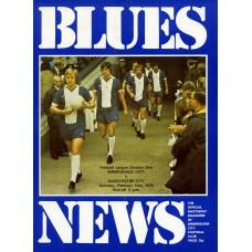 14/02/1976 Birmingham City v Manchester City