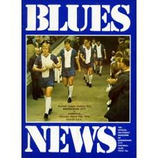 13/03/1976 Birmingham City v Liverpool