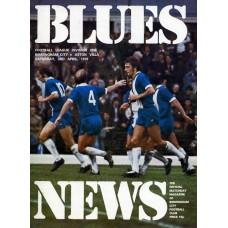 03/04/1976 Birmingham City v Aston Villa
