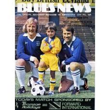 11/09/1976  Birmingham City v West Bromwich Albion