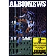 18/02/1977  West Bromwich Albion v Birmingham City