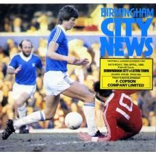 19/04/1980  Birmingham City v Luton Town