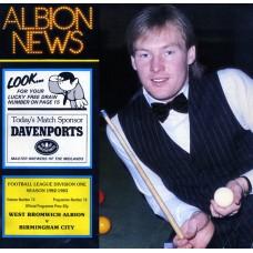 19/03/1983  West Bromwich Albion v Birmingham City