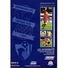 19/11/1994  Birmingham City v AFC Bournemouth