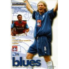 16/09/2002  Birmingham City v Aston Villa