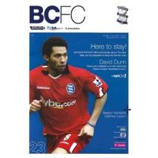 15/05/2005  Birmingham City v Arsenal