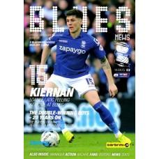 14/04/2015  Birmingham City v Blackburn Rovers