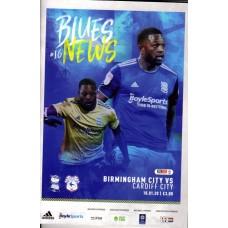 18/01/2020  Birmingham City v Cardiff City
