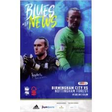 01/02/2020  Birmingham City v Nottingham Forest