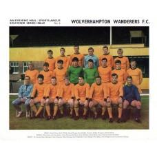 Wolverhampton Wanderers FC  Sports Argus Souvenir Team Photograph 1968-69 No6
